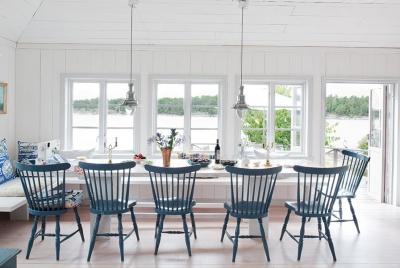 scandinavian style swedish dining room