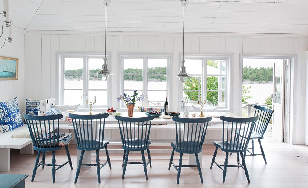 scandinavian style swedish dining room