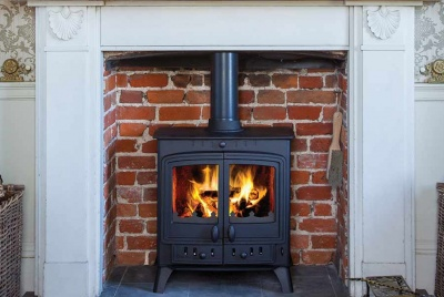 The Villager Duo range (5kW to 14.4kW models) boasts modern technology and grand double doors. (SRP- from £729 inc VAT)