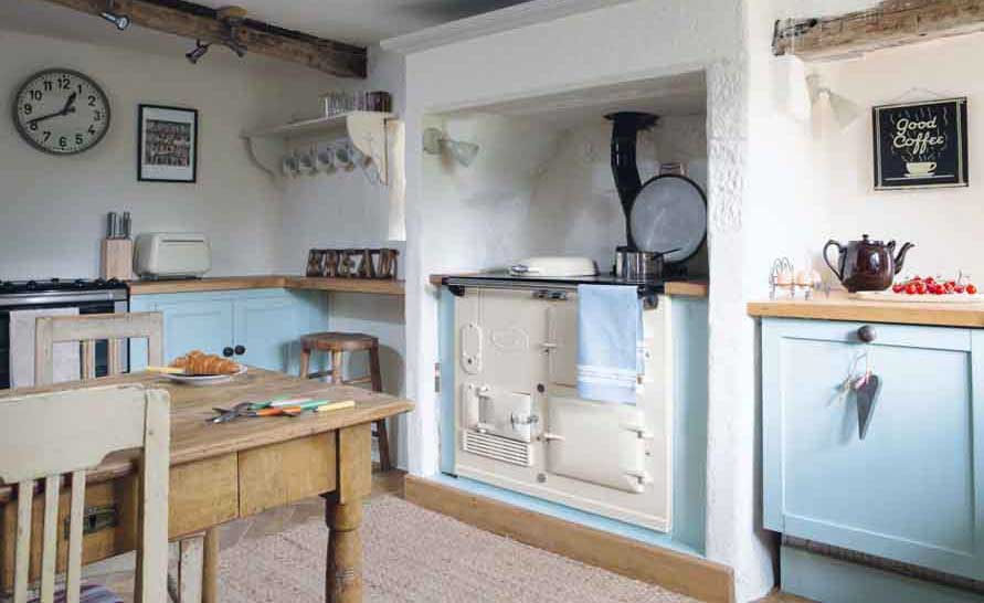 restored peak district country cottage