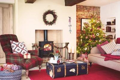 cosy quiet Christmas