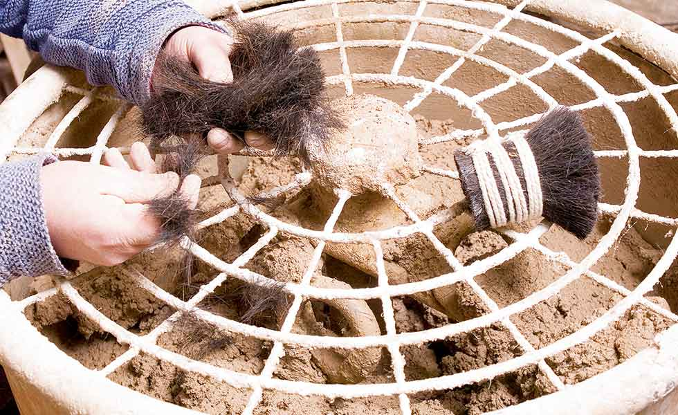 Animal Hair Plaster : Repairing and replacing plaster in old homes period living