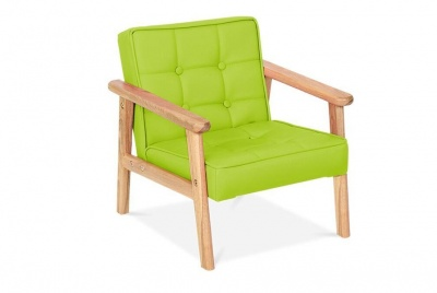 cult green armchair
