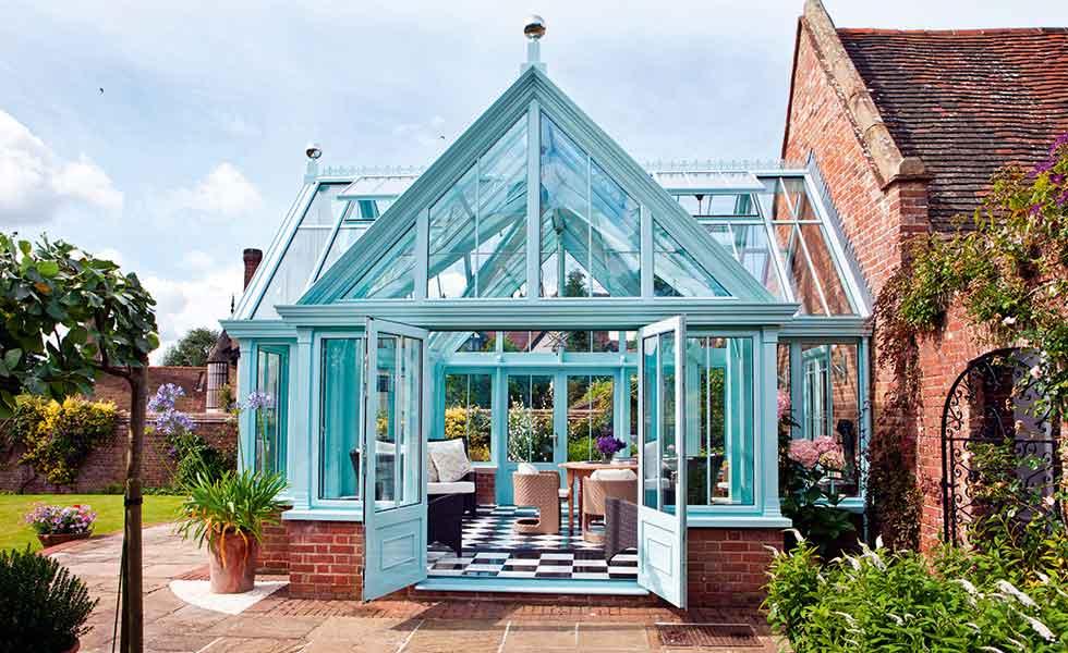 Bespoke aluminium conservatory by Alitex