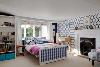 contemporary country children's bedroom