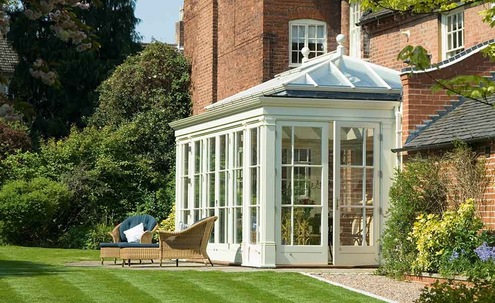 Bespoke orangery to Georgian home by Glass Houses by Jeremy Uglow