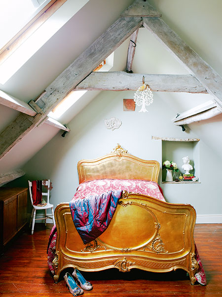 Loft conversion in period home