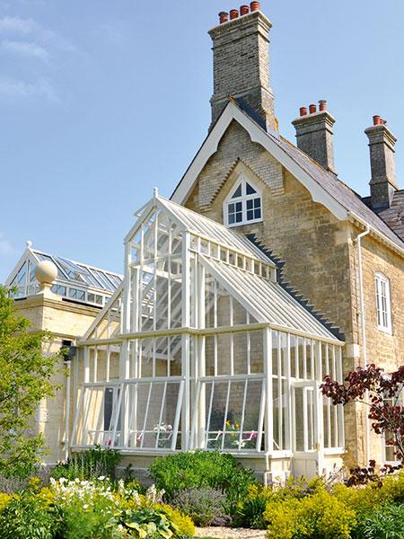Marston & Langinger powder-coated aluminium conservatory