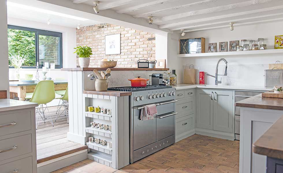 Modern Kitchen Old House how to go open plan in an old house - period living