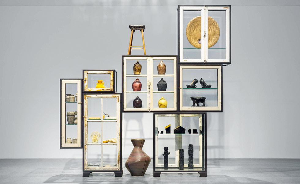 Piet Hein Eek Upcycled window cabinet