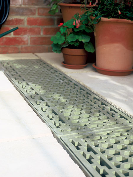 Trench heating for conservatories