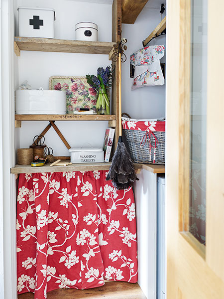 Utility room cupboard