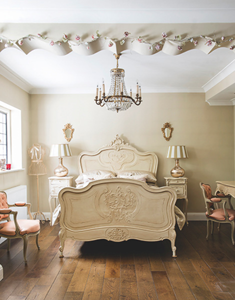 romantic elegant french bedroom