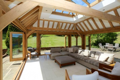 prime oak timber orangery