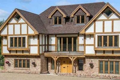 scandi hus traditional exterior