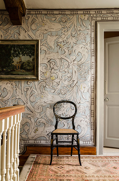 BACCHUS wide width wallpaper lewis and wood