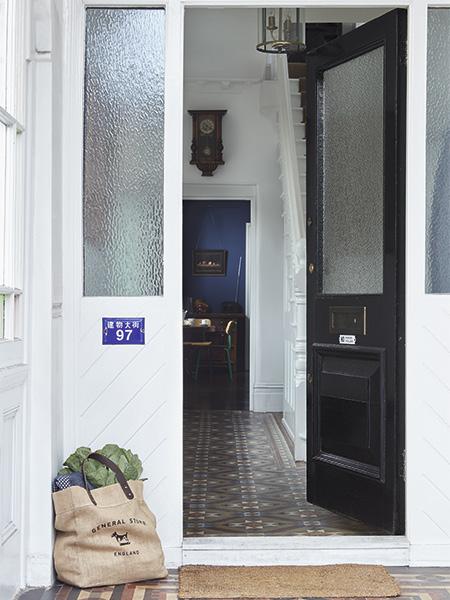 doorway in a Victorian home