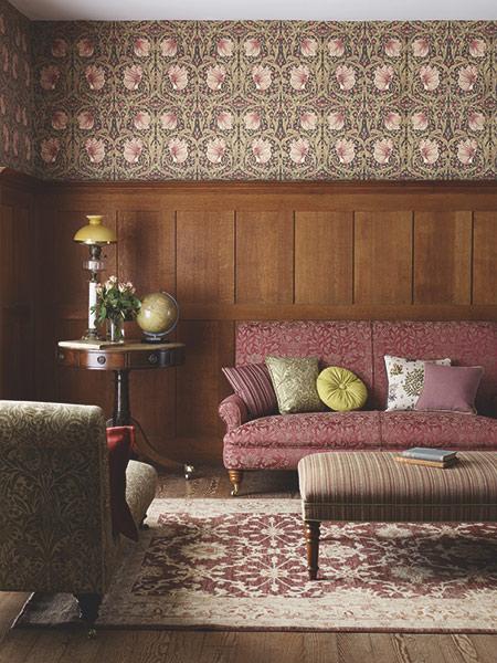 Pimpernel wallpaper morris and co