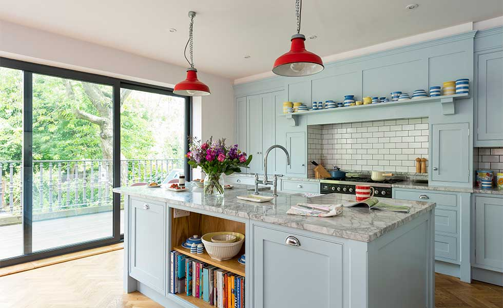extending a victorian house open plan kitchen