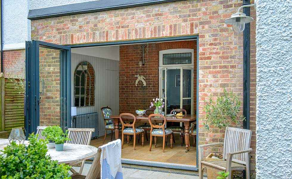 extending a victorian house bifold doors