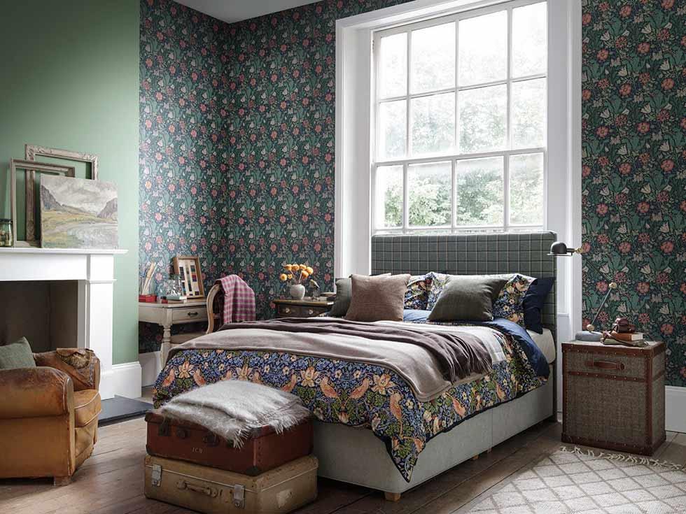 hypnos arts & crafts bedrooms