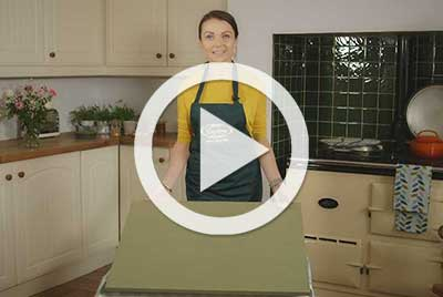 Painting kitchen cupboards with Sarah Weightman video