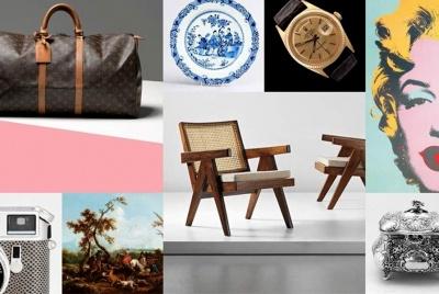 barnebys auction collage