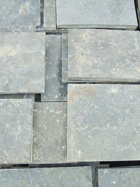 Reclaimed yorkstone from Hampshire pub