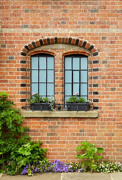 converted victorian mill original window