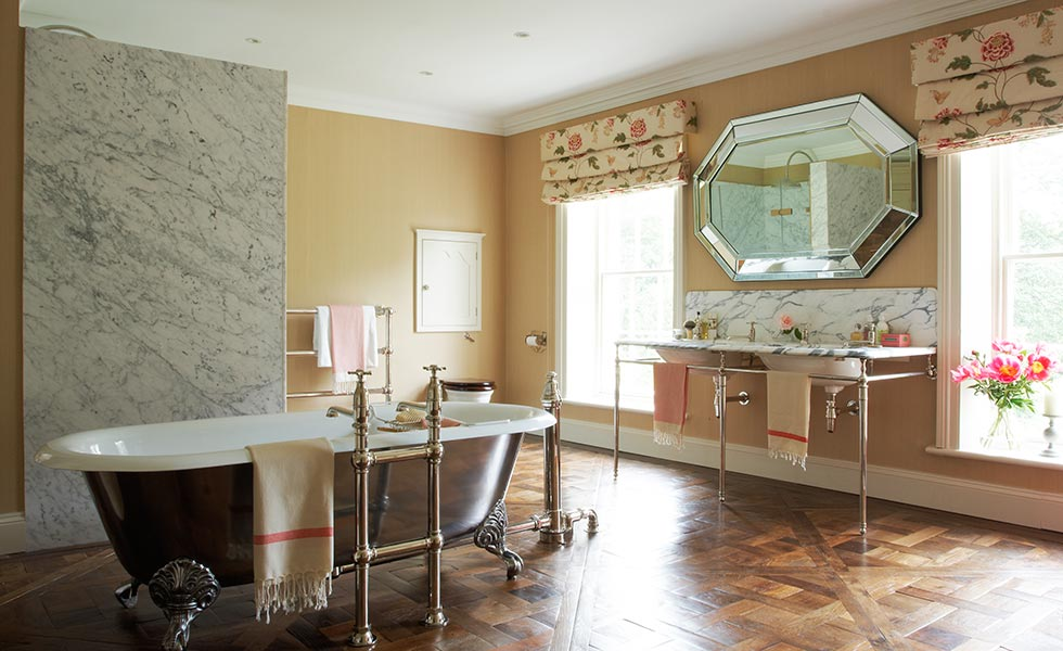 9 beautiful luxury bathrooms period living for Bathroom design yorkshire