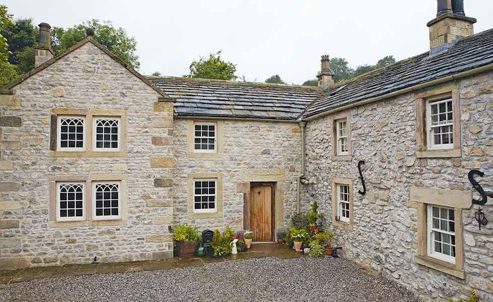 Seamless in-keeping extension that doubled the size of stone house