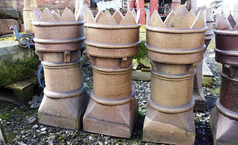 Small King reclaimed chimney pot