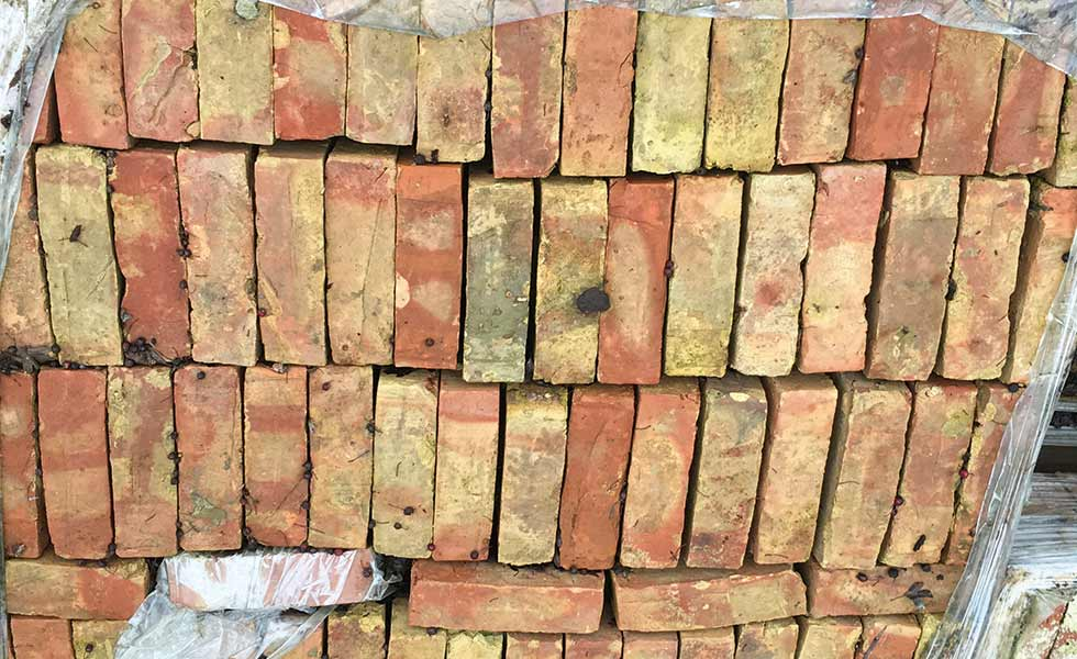 Reclaimed Gault bricks