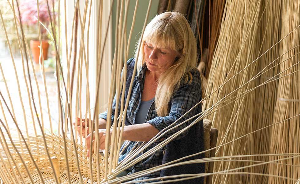 craft hobby basket making