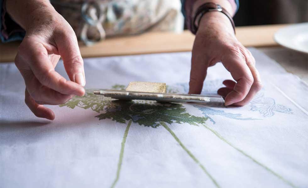 craft hobby block printing fabrics