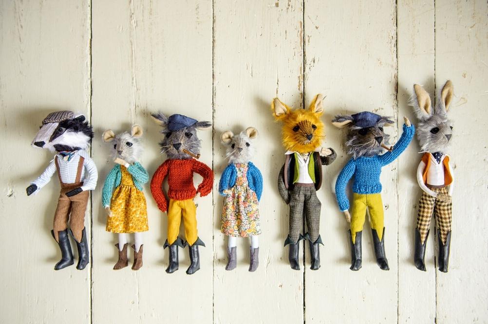 craft hobby textile animals