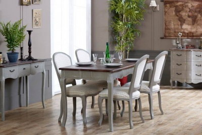 melody maison dining room french vintage style interior