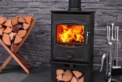 Docherty Graphite multi-fuel stove