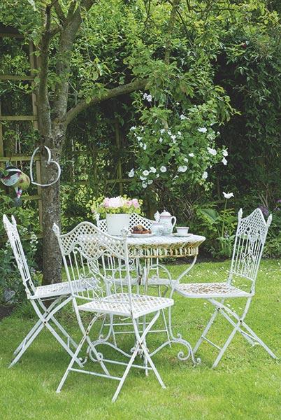 cottage garden afternoon tea