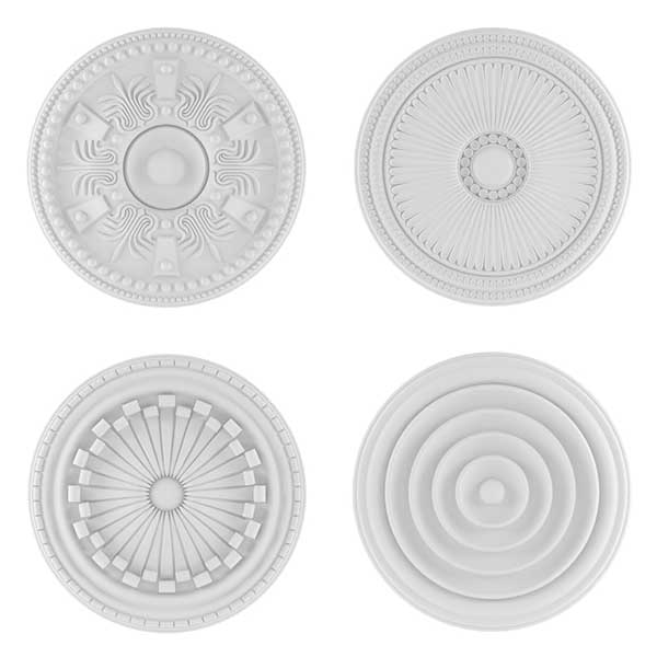 Ornate ceiling rose