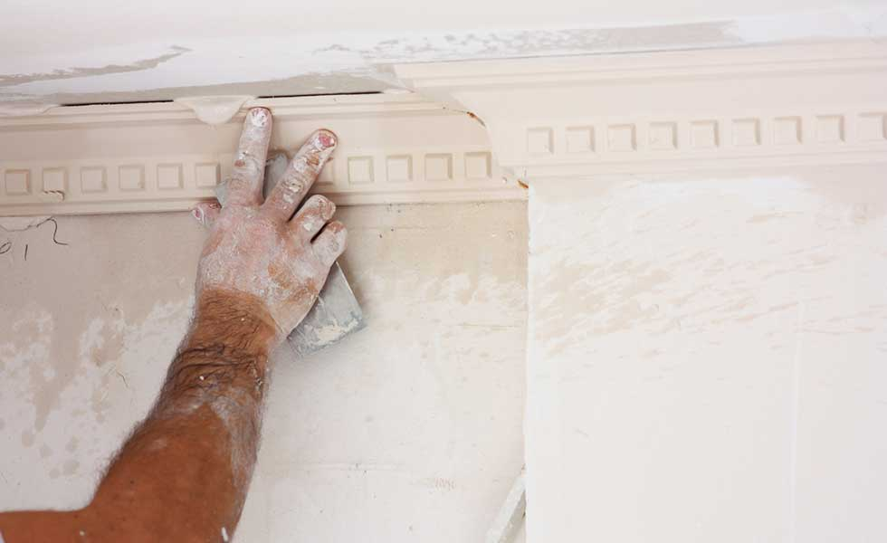 Repairing original mouldings