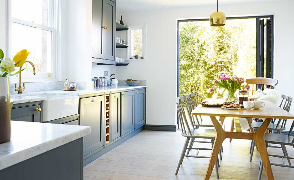 kitchen transformed without planning permission