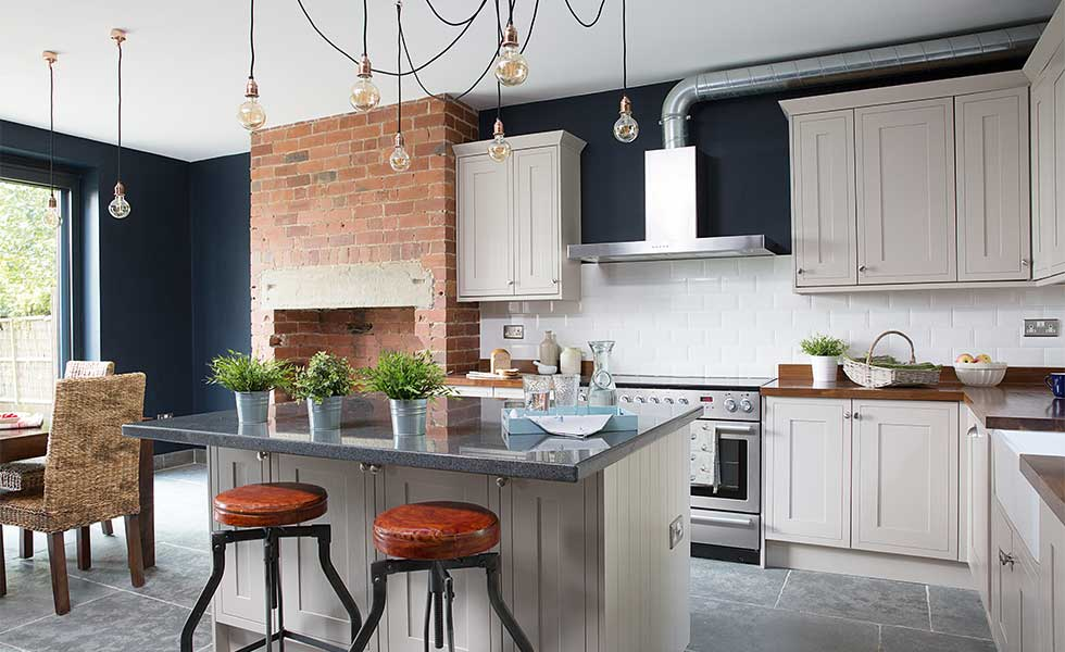7 ways to transform your home without extending real homes for Turning a galley kitchen into an open kitchen