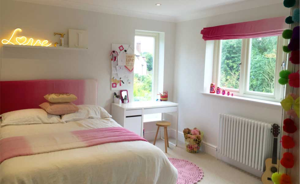 Creating the perfect little girl's bedroom