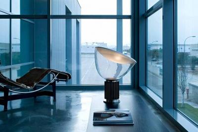 iq furniture taccia light glass corner windows chair