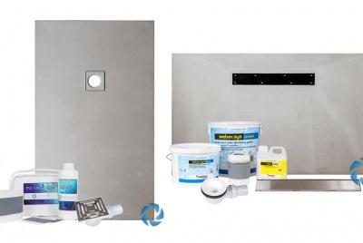 wetrooms online wet room base kit