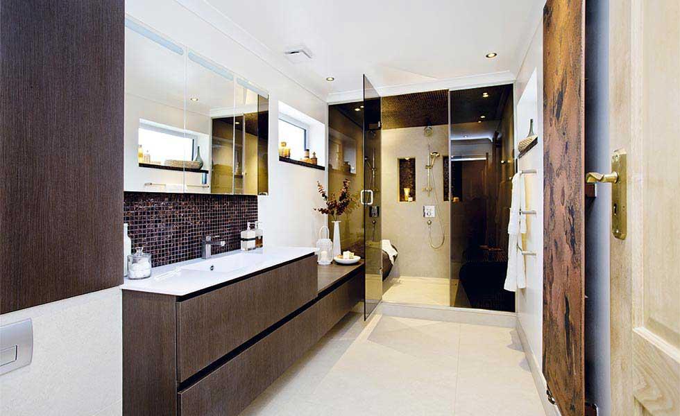 Dark bathroom decorating ideas