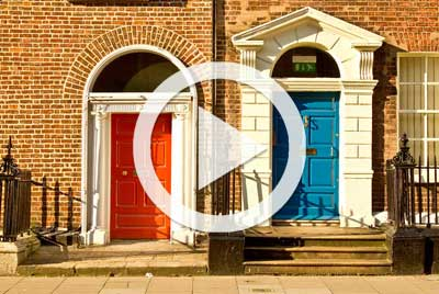 Video: How to paint a door
