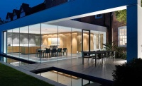 glass extension kitchen diner