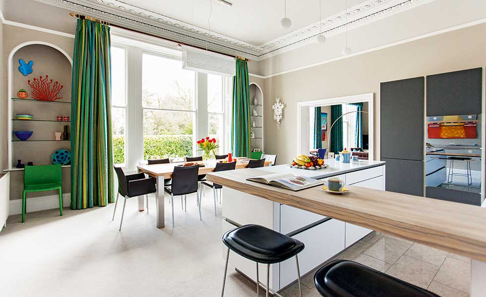 12 beautifully decorated apartments